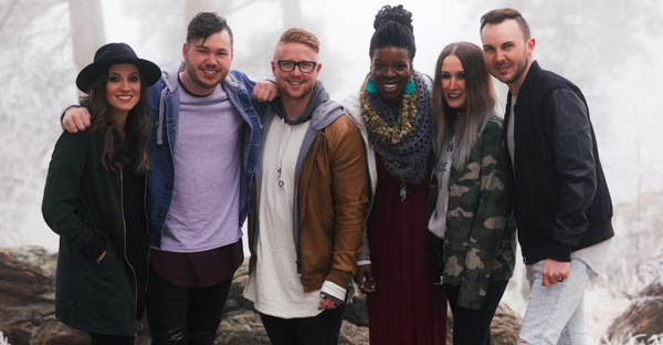 Red Rocks Worship is L-R: Nicole Serrano, Kory Miller, Jake Espy, Adaeze Azubuike, Jerrica Matrone, Tyler Roberts  (not pictured: Dave Anderson, Brinnae Keathley, Emily Franklin)