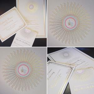 Elegant Invitation Suite and Monogram