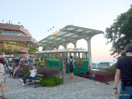 Retired old Peak Tram