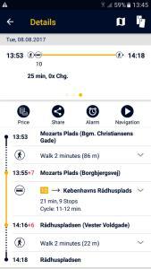 Rejseplanen app