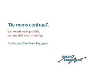 Urban Connector: advies aan Van Roey Vastgoed