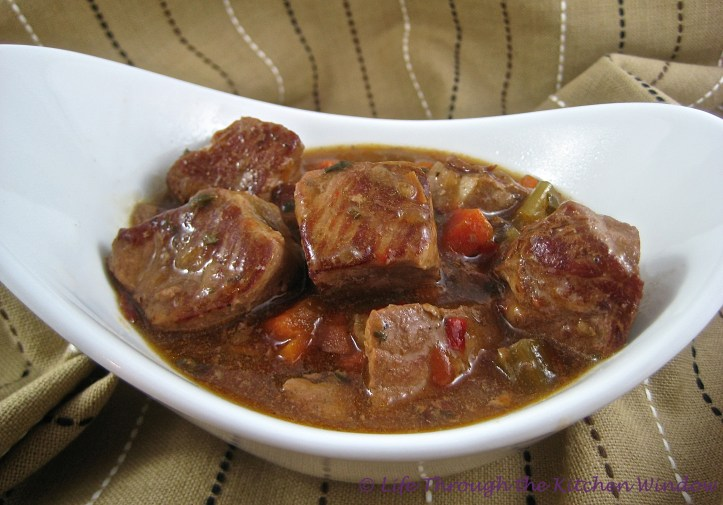 Italian Pork Stew | © Life Through the Kitchen Window.com