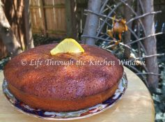 Lemon Buckwheat Honey Cake | © UrbanCottageLife.com