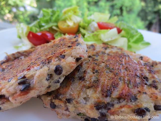 Salmon, Potato & Lentil Cakes | © Urban Cottage Life.com