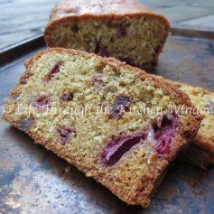 Strawberry Muesli Tea Bread ⎮ © UrbanCottageLife.com