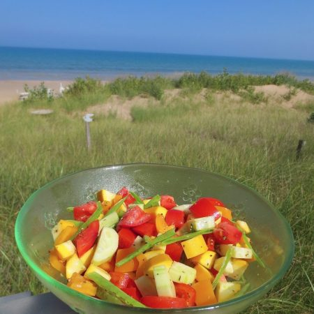 Summer Jumble Salad   © Life Through the Kitchen Window