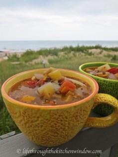 Zucchini Soup│© Life Through the Kitchen Window