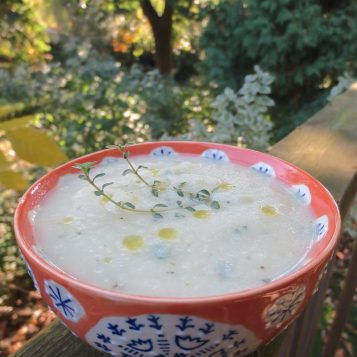 Celeriac Soup | © Life Through the Kitchen Window .com