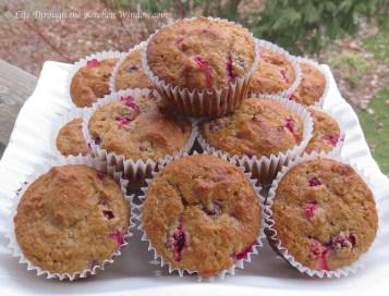 Cranberry Muffins | © Life Through the Kitchen Window.com