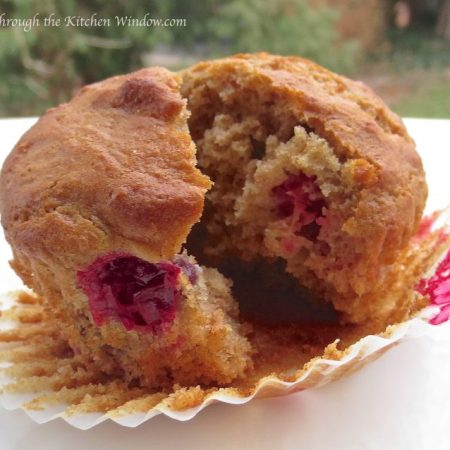Cranberry Muffins | © Life Through the Kitchen Window.com