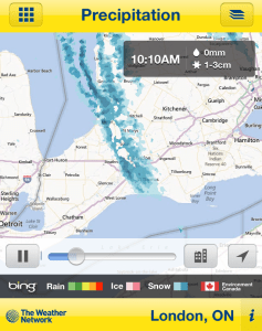 Radar: Streamers Off the Lake