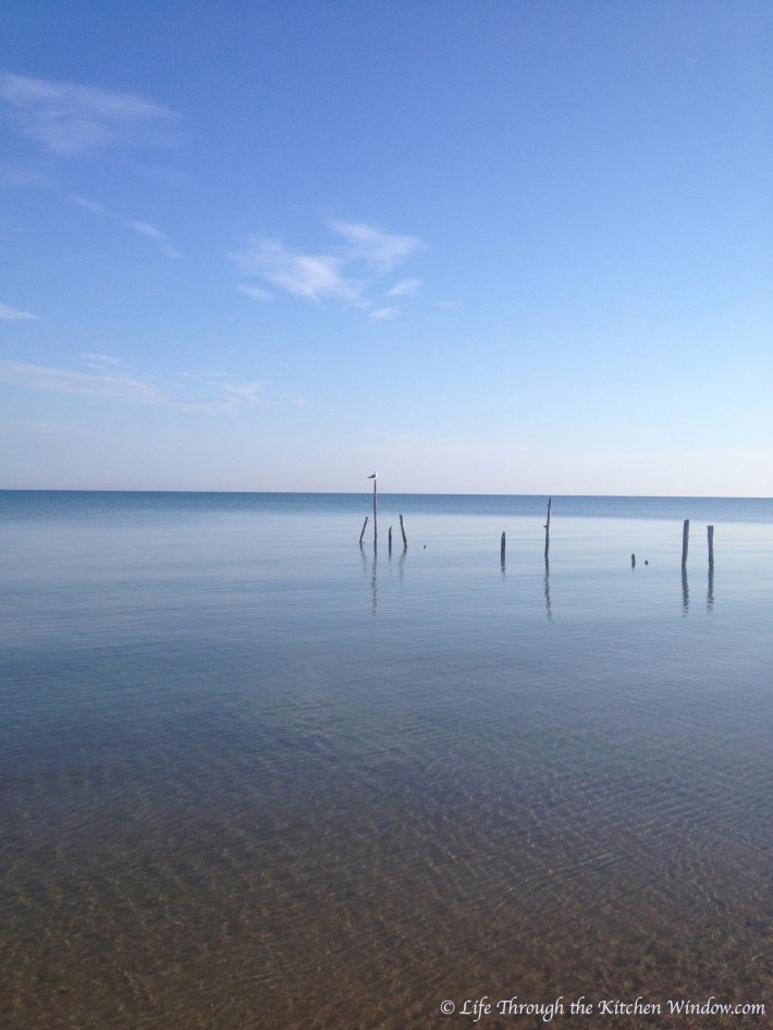 Morning Walk, Lake Huron, September 2014 | © Life Through the Kitchen Window.com