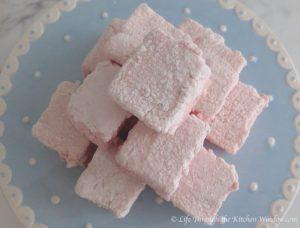 Strawberry Marshmallows   © UrbanCottageLife.com