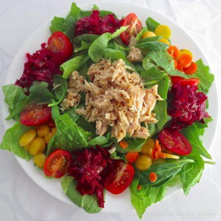 Winter Salad │© Life Through the Kitchen Window.com