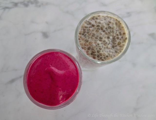 Chia Seed Pudding Comparisons│© UrbanCottageLife.com