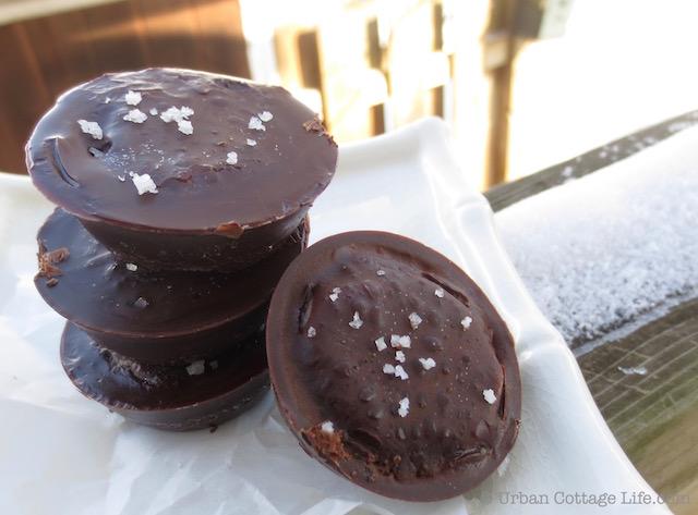 Choco-Caramelicious Patties | © UrbanCottageLife.com