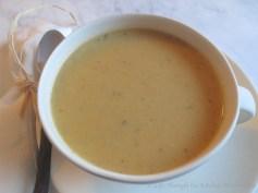 Creamy Parsnip & Sweet Potato Soup │ © Life Through the Kitchen Window.com