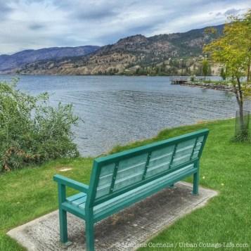 Naramata Bench   © Urban Cottage Life.com
