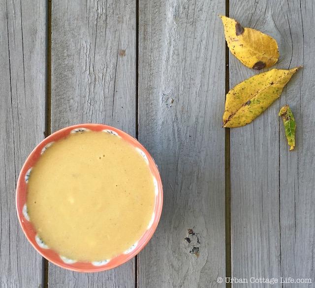 Silky Corn Soup   © Urban Cottage Life.com
