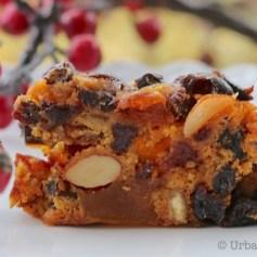 Fruity, Boozy Fruitcake |© UrbanCottageLife.com