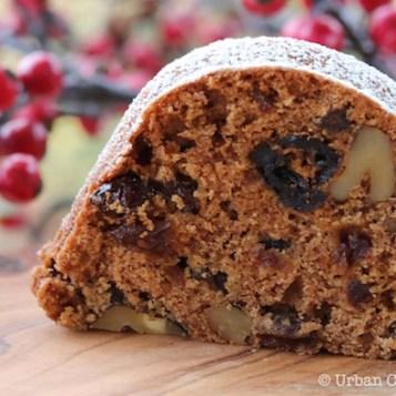 Applesauce Spice Cake | © UrbanCottageLife.com