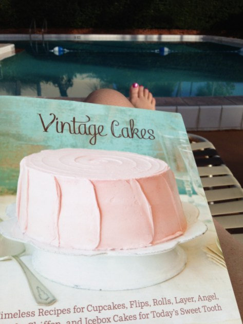 A Little Poolside Reading  © Urban Cottage Life.com