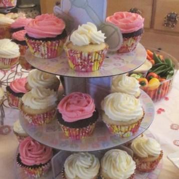 Baby Shower Cupcakes   © Urban Cottage Life.com