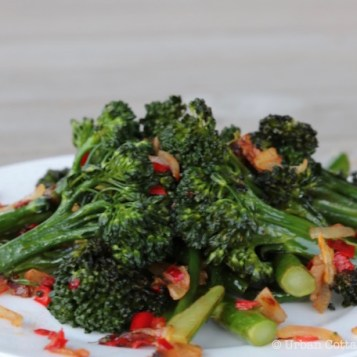 Sautéed Broccolini | © Urban Cottage Life.com