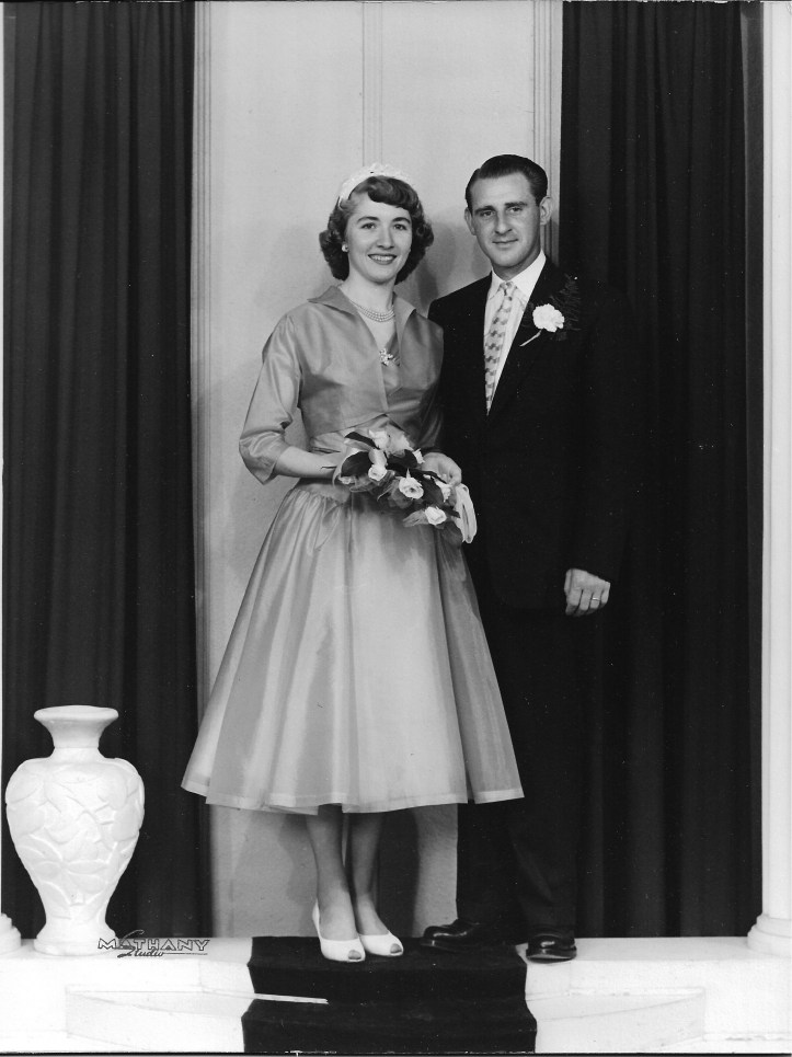 June 9, 1956 - Mom & Dad's Wedding Portrait