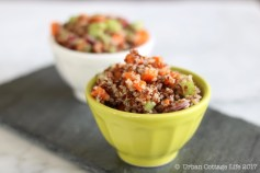 Simple Quinoa Salad | © UrbanCottageLife.com