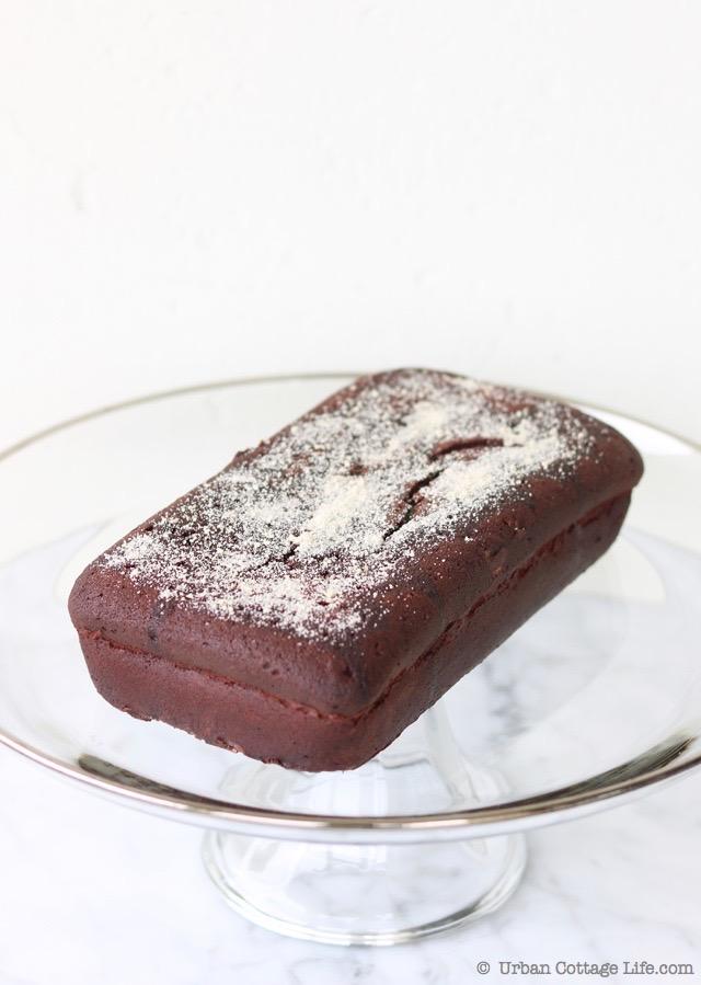 Chocolate Whisky Maple Cake | © UrbanCottageLife.com
