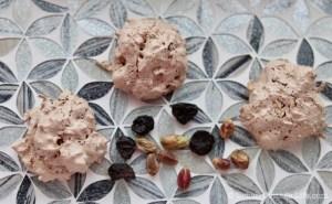 Chocolate, Cherry & PIstachio Macaroon Meringues ❘ © UrbanCottageLife.com