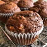 Banana Chocolate Muffins ❘ © UrbanCottageLife.com