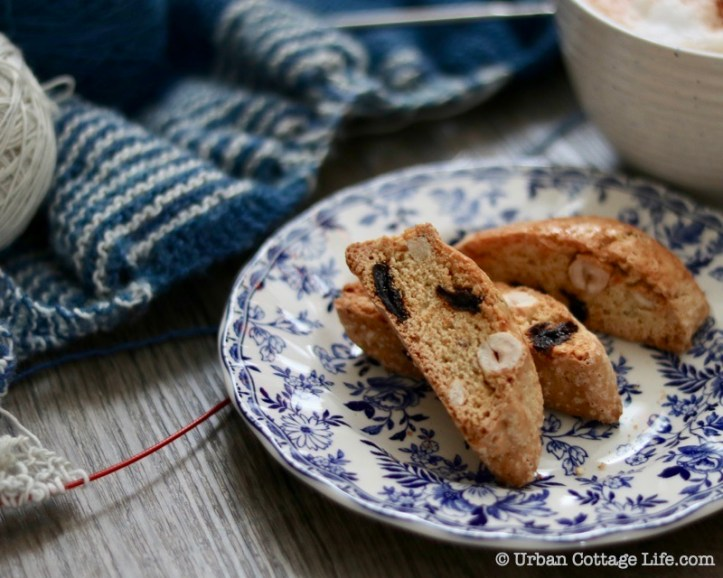 Hazelnut, Orange and Sour Cherry Biscotti ...
