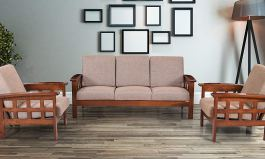 Sydney Five Seater Sofa 3-1-1 (Brown) by Urban Couch