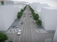 Visualisation of current streetscape бул. Княз Александър Дондуков (Courtesy of Sofia News)
