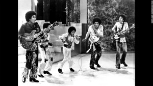 Michael Jackson with the Jackson Five