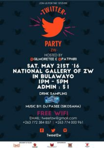 Bulawayo Creatives to Host Twitter Party: #TwitterPartyZW