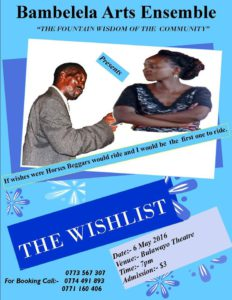 Wish List By Bambelela Arts Ensemble