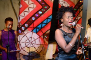 Tinashe Tafirenyika Live at Women Wine & words Picture Enerst Makina