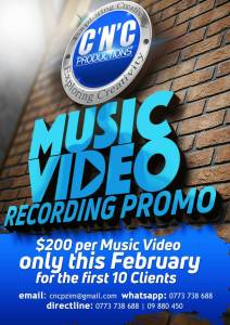 Music video at CNC Productions