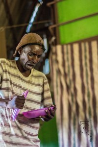 Award winning Thetare Actor Leornard Phiri in action