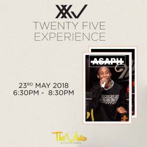 #EVENTALERT : #TwentyFiveExperience At The Vista Bulawayo