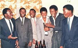 "Legends : from left) Sydney Zimunya, Netsai ""Super Netsai'' Moyo, Mercedes ""Rambo"" Sibanda, Titus ""Yellowman"" Majola, Rahman ""Doctor Rush"" Gumbo and Tito Paketh"