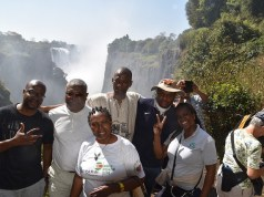 Buyers at Victoria Falls