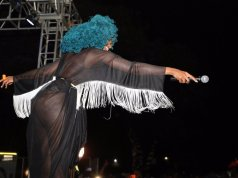 Moonchild Sanelly live on stage
