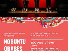 #Music : Nobuntu Album Launch