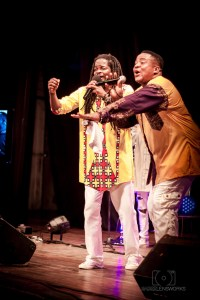 Khuliyo and Ramsey K on stage