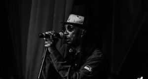 Thomas Mapfumo on stage Picture by StickyPics