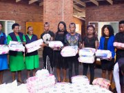 Soccer Star Kudakwashe Mahachi Donates To Ekuphumuleni Old People's Home